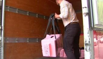 Trasladan 556 paquetes electorales del Estado de México para recuento