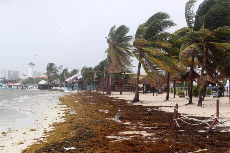 Alistan albergues por Franklin en Campeche