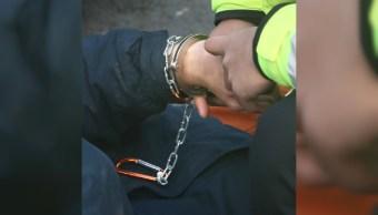 persona detenida por cometer un delito en la cdxm