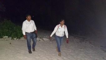 Profepa realiza recorridos nocturnos para proteger a la tortuga en Q.Roo