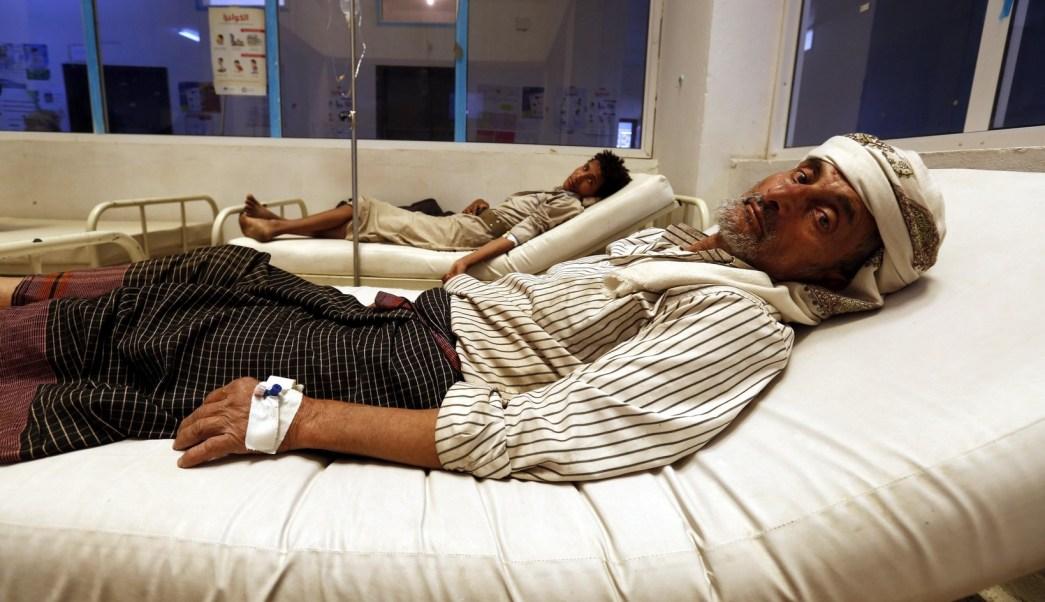 personas contagiadas de colera en yemen