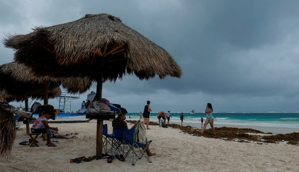 Franklin impactará Quintana Roo noche lunes