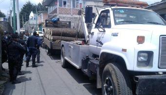 Aplican operativo contra la tala ilegal en el Ajusco