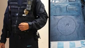 Policía salva su vida gracias al chaleco y frustra robo en CDMX
