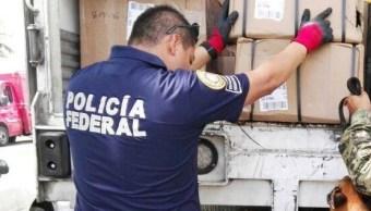 Operativo de seguridad de la Policía Federal
