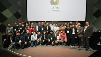 Anuncio de los Premios LARA de Google