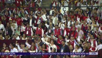 PRI, celebra, Asamblea Nacional, candidaturas
