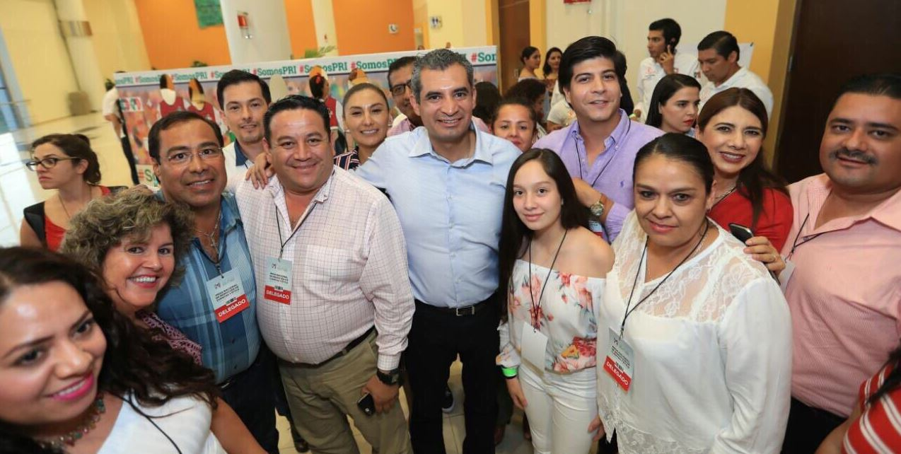 Aurelio Nuño celebra apertura de PRI en candidaturas