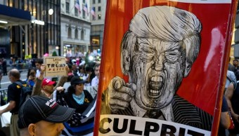 Segundo dia protestas Donald Trump Nueva York