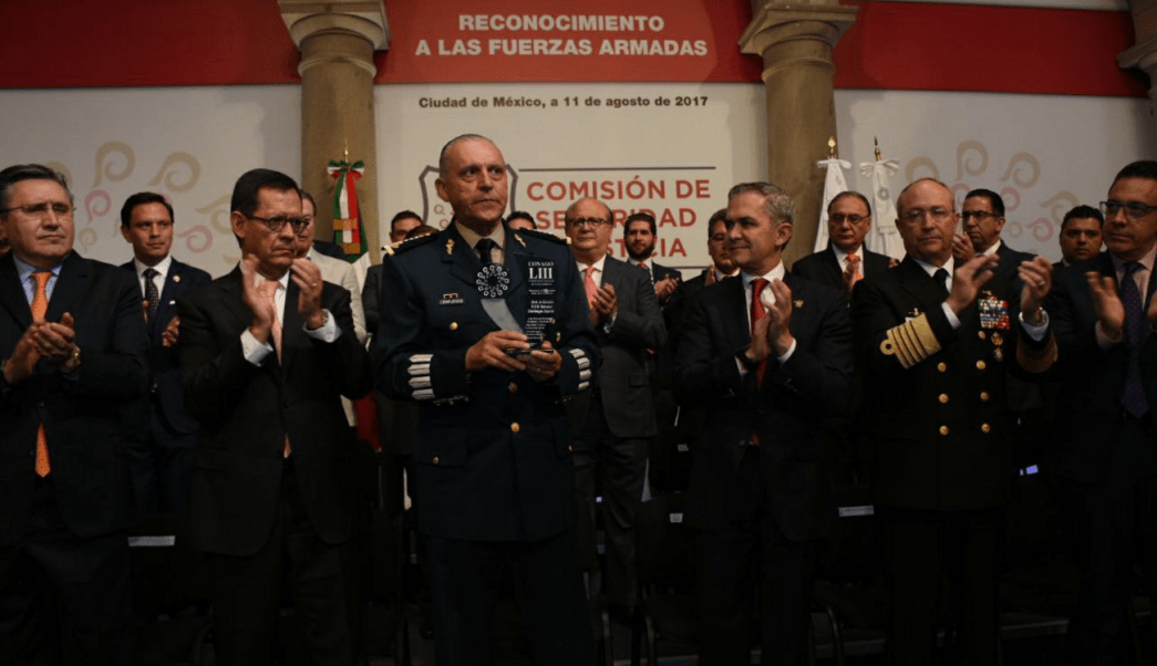 Conago rinde homenaje a Fuerzas Armadas