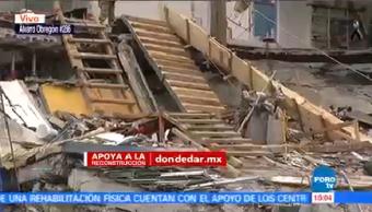 Recuperan Más Cuerpos Edificio Colapsado Álvaro Obregón 286