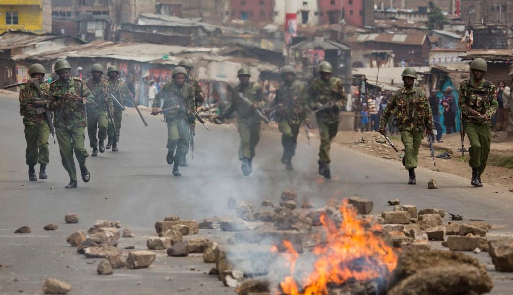 Resultados electorales en Kenia desatan disturbios