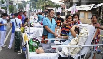 Sismo de 5.1 deja dos muertos en Filipinas
