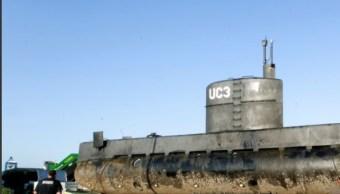 submarino casero realizado por peter madsen
