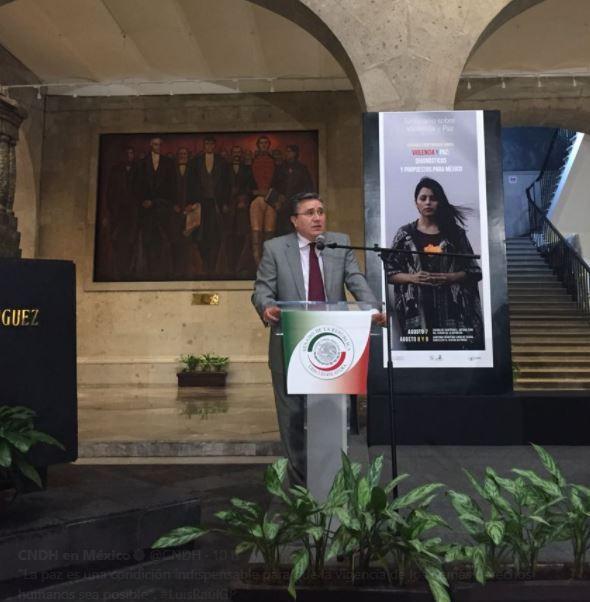 CNDH pide combatir violencia sin medidas autoritarias