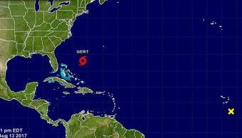 Depresión tropical en el Atlántico se convierte en tormenta Gert