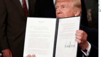 Trump firma memorando sobre practicas intelectuales China