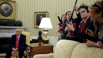 Trump incitan la violencia contra la prensa, considera alto comisionado de ONU