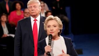 Mi piel se erizó: Hillary Clinton recuerda asedio de Trump en debate