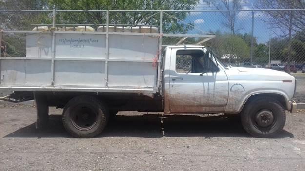 Vehículo asegurado en Sinaloa