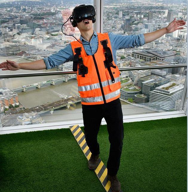Vértigo, otra experiencia virtual en el edificio londinense