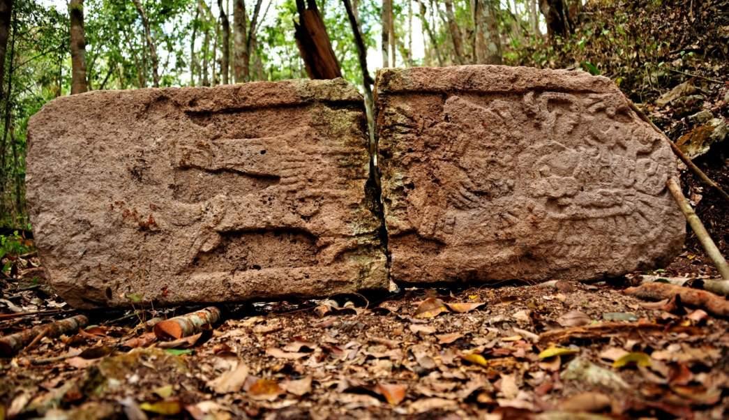 Vestigios mayas en Ciudad del Carmen Campeche