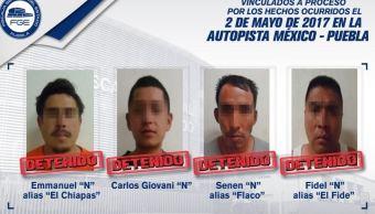 vinculan responsables ataque familia mexico puebla
