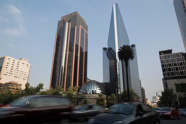 Vista de la BMV en la Ciudad de México