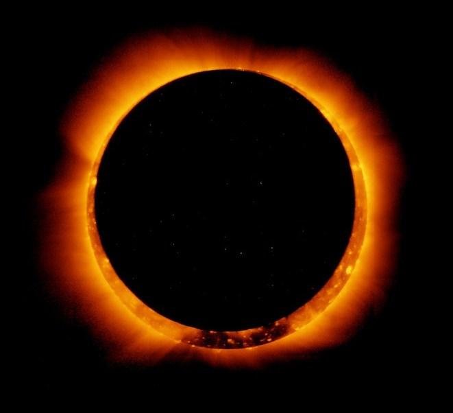 imagen eclipse solar anular de 2011