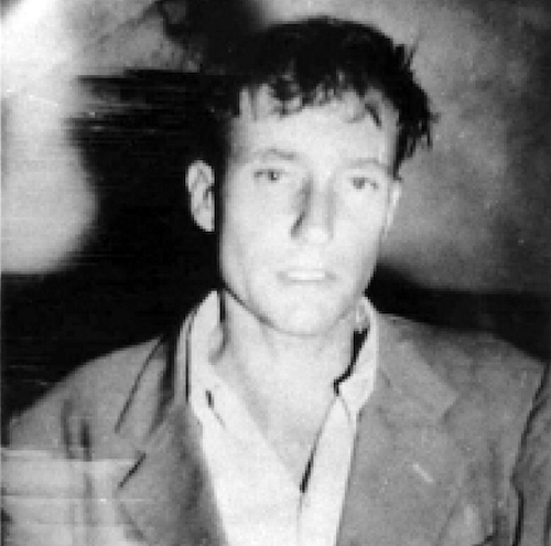 William Burroughs, foto, policía, asesinato, Joan Vollmer.