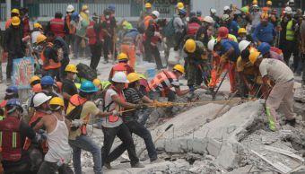 México sismo magnitud 71 19 septiembre imágenes