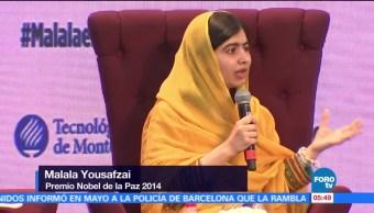 Mexico Malala Critica Muro Trump Premio Nobel De La Paz Malala Yousafzai