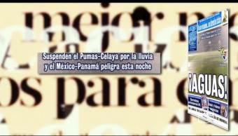 Encabezados Deportivos Septiembre Primeras Planas Periódicos Deportivos