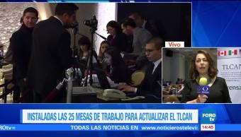 Inicia segunda ronda de renegociación TLCAN