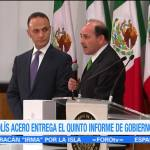 Entregan al Congreso Quinto Informe Gobierno