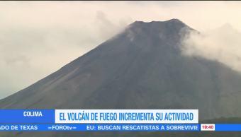 Volcán de Colima podría iniciar nueva etapa explosiva
