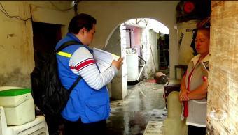 Inician cuantificación de daños en Venustiano Carranza CDMX
