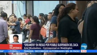 Dreamers Riesgo Posible Suspension Daca Corresponsal En Washington Ariel Moutsatsos