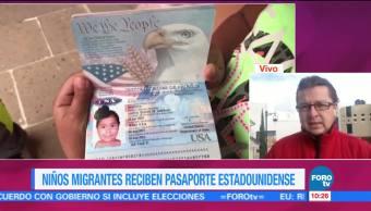 Niños migrantes reciben doble nacionalidad Zacatecas Estados Unidos