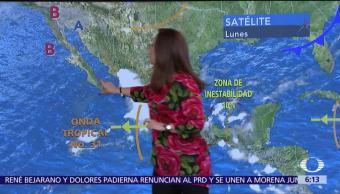 Persistirán, lluvias, República, Mexicana
