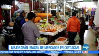 Mejorarán, imagen, mercados, Coyoacán