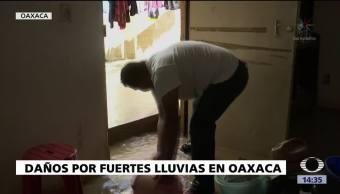 Lluvias Provocan Afectaciones Oaxaca Mixteca Valles Centrales