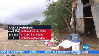 Trabajos limpieza BCS Lidia tormenta