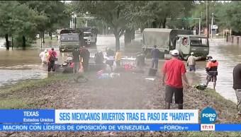 60 Muertos Harvey Texa Autoridades Forenses Cifra De Muertos Huracan Harvey