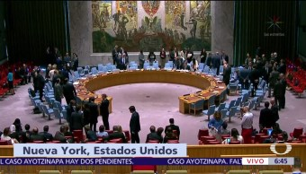 Consejo, Seguridad, ONU, crisis