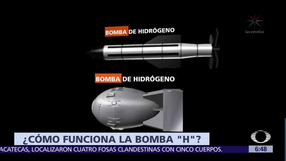 Qué, bomba, de, hidrógeno