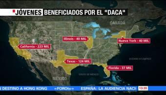 Cómo Distribuidos Dreamers Estados Unidos Nacionalidades
