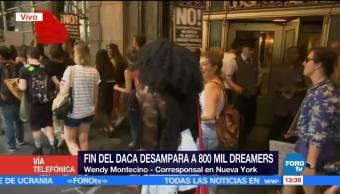 Fin Daca Desamparados 800 Dreamers Corresponsal En New York, Wendy Montecinos