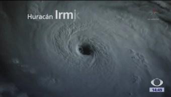 Imágenes Huracán Irma Espacio Saffir Simpson
