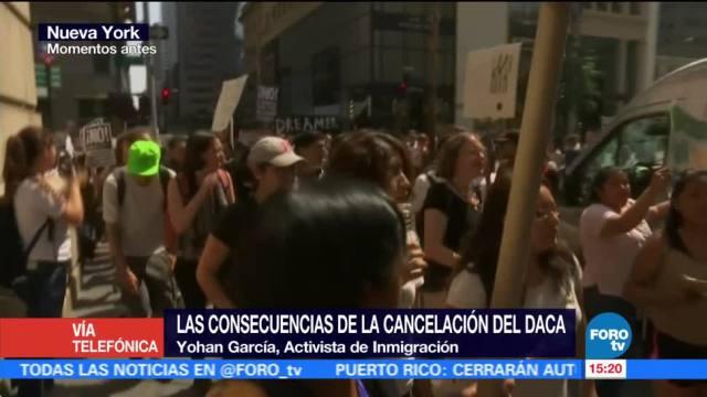 Yohan García Mexicano Afectados Cancelacion Daca